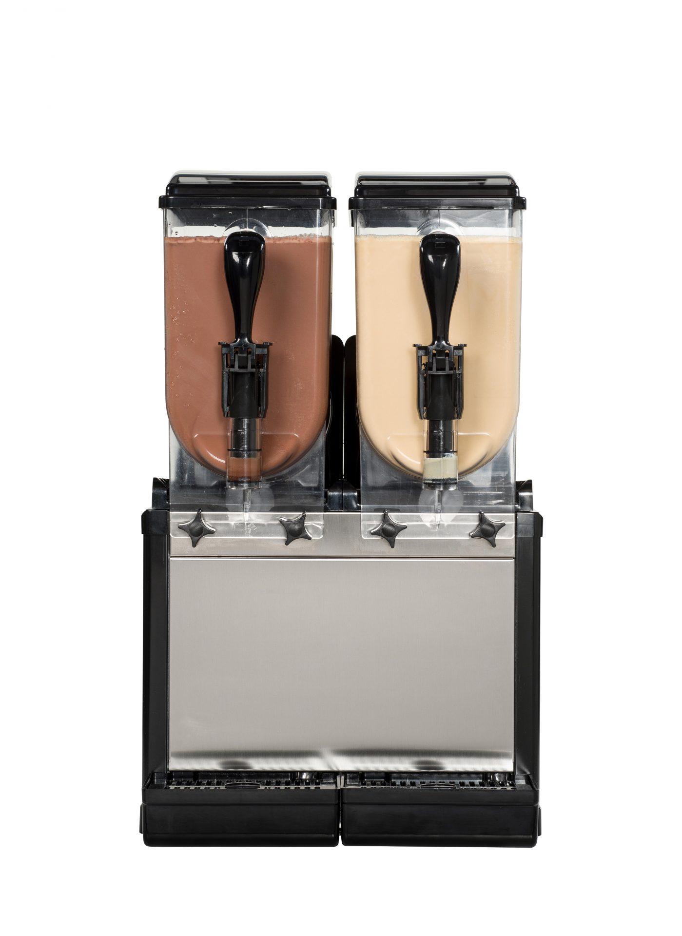 SD2 met ijskoffie en Ice Choco